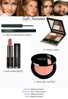 Make Up for Ever Aqua Liner in 3 Iridescent Emerald / Kevyn Aucoin Five Shadow Palette in No. 5 / Make Up for Ever Sculpting Blush in 16 Matte Light Coral  / Make Up for Ever Intense Lipstick in 25 Satin Caramel