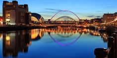 Newcastle-upon-Tyne, my father's lovely home city. Loads of Georgian buildings, friendly, gregarious people and great beaches. Marsden Rock, anyone? Spent summers galore there as a kid.