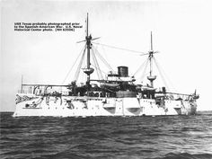 U.S. Spanish-American Warships | ... : USS Texas, probably photographed prior to the Spanish American War