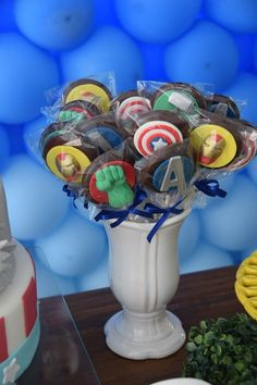 Avengers Themed Birthday Party