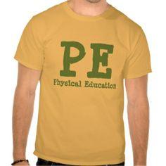 PE = T SHIRT