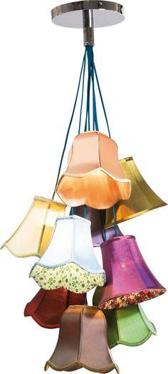 Hängelampe Deckenlampe Hängeleuchte Lampenköpfe Blüten Leuchte NEU KARE Design | eBay