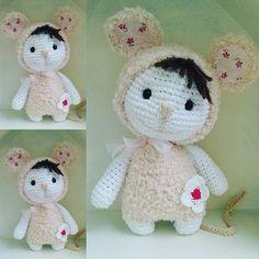 Little mouse in my house... für @sabbaerle #mouse #mäuse #crochetlove #crochet #häkeln #häkelliebe #cuddly #cuddlytoys #marleensmadeforyou #dollmaker #crochetdolls