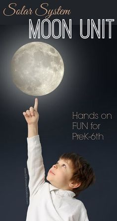 Moon Unit - Hands on science projects to help kids in Preschool, Prek, Kindergarten, first grade, second grade, third grade, 4th grade, 5th grade and 6th grade learn about our solar system - moon phases, astronauts, and LOTS more! (perfect for homeschool science or summer learning)