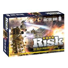 Doctor Who RISK Game - Multiple Dalek armies descend from the skies, seeking to conquer the world. - http://geekarmory.com/risk-doctor-who/