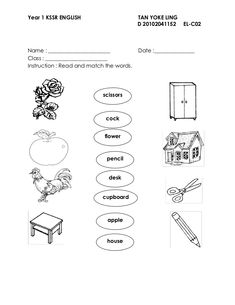 Ever-popular English Homework Year 1 guide Year 2 English Worksheets, 1st Grade Worksheets, Reading Worksheets, Kindergarten Worksheets, English Exam Papers, English Homework, English Test, Malay Language, Lovely Good Night