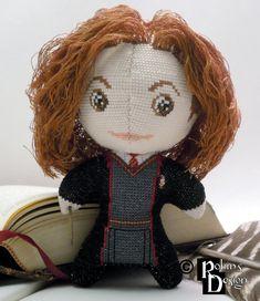 Hermione Granger 3D Cross Stitch Doll by rhaben.deviantart.com on @DeviantArt