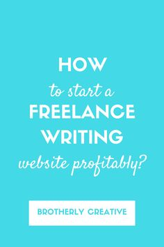 how to start a lance writing career for college students how to start a professional lance writing website