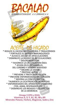 BENEFICIOS DEL ACEITE DE HÍGADO DE BACALAO