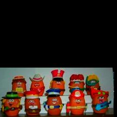 Old McDonald's nugget toys
