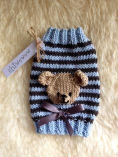 Baby Bear Puppy Sweater