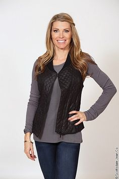 Tart Aislin Vest $119.00 #sjc #scottsdalejeanco #fallfahion #winterfashion #tart #tartcollection #vest #quiltedvest