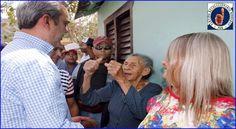 Millones de potenciales votantes reciben este fin de semana el mensaje de cambio del opositor Luis Abinader