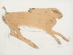 Dame Elisabeth Frink: Hare 1967. A rest from all the Cornish abstractionism...