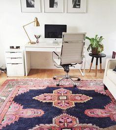 Workspace with Caitlin Wilson rug