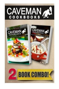 Paleo Recipes For Auto-Immune Diseases and Paleo On A Budget In 10Mins Or Less: 2 Book Combo (Caveman Cookbooks) -- Read more reviews of the product by visiting the link on the image.