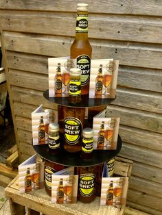 Soft Brew tower - perfect for a summer's day Beverages, Drinks, Root Beer, Beer Bottle, Brewing, Tower, Apple, Canning, Mugs