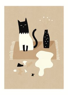 Miko Sorry / Affiche Poster by MathildeAubier on Etsy, €15.00