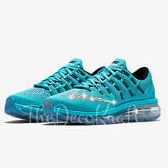 Custom Bling Womens Nike Air Max 2016 Swarovski Crystal Bling Sneakers 49787cc2b0e0