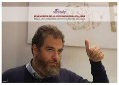 Giovanni Gagliardi proclamato Benemerito della Viticoltura Italiana http://www.vinisudexpo.it/blog/giovanni-gagliardi-proclamato-benemerito-della-viticoltura-italiana/ #vinisudexpo #vinitaly