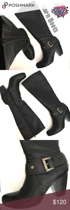 ❌Awesome Born Boots ❌ Super COMFY AND STYLISH BOOTS! Lovely black color ❌❌❌❌EXCELLENT CONDITION ❌❌❌❌❌ Born Shoes Heeled Boots