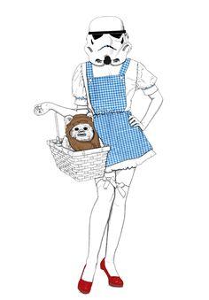 Dorothy Trooper by Olga Cisternas