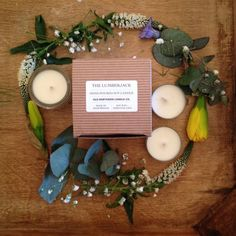 Old Northern Candle Co 10 December, Soy Candles, Tea Lights, Wax, Essential Oils, Goodies, Table Decorations, Handmade Gifts, 18th