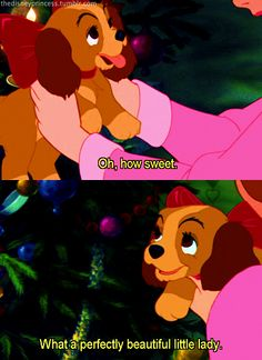 From Disney's Lady And The Tramp