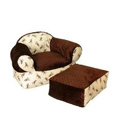 Monkey Business Overstuffed Chair   Sofas #Kids #Kids #Children #Child  #Furniture