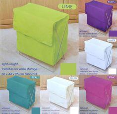 Large Sturdy Folding Pop Up Laundry Clothes Wash Storage Hamper Bin Bag Basket
