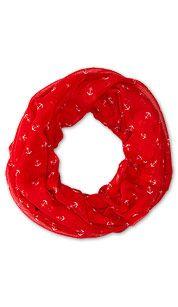 Bufanda en rojo