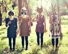 Photoshoot idea!!! Use masks!!!!