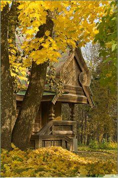 Rural Rassia - Wood Buildings