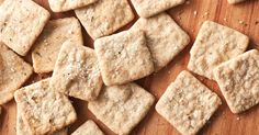 Overnight or several hour rise isn't required. Make from a morning starter. Suzyannabelle Sourdough Crackers Recipe | King Arthur Flour