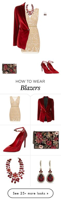 """""""Untitled #1913"""" by angelbear38 on Polyvore featuring Nicole Miller, Tagliatore, Valentino, MANGO and Givenchy"""