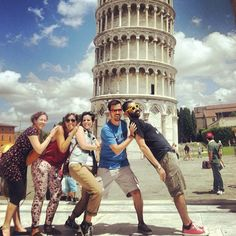 Just leanin'! @ Pisa