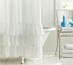 bath time curtains :)