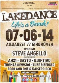 7 juni #lakedance at #aquabest #eindhoven