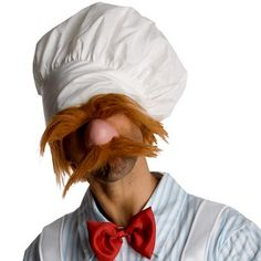 Swedish Chef Muppets Costume | Adult Mens Muppet Costumes