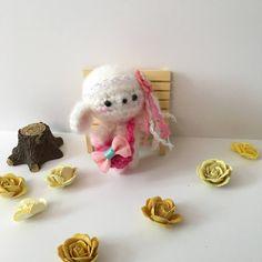Miniature Lamb Crochet Lamb Toy Amigurumi Lamb Blythe Doll Toy Easter Plush Stuffed Animal Kawaii Fuzzy Lamb Kids Toy Girls Gift Ideas by AmiAmiGocco on Etsy