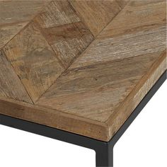 Dixon Coffee Table in Side, Coffee Tables | Crate and Barrel