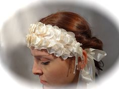 Vintage Bridal Headpiece Wedding Accessories by Marcellefinery