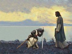 No hay lugar más alto Mas grande que estar a tus pies ☝️ Cristo mi Rey
