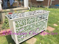 Mosiac Masterpieces!!!   Shop Us Online! https://www.etsy.com/shop/BroadwayFurniture  See more of my work at www.broadwaychicfurniture.com  #Luxury #Mirror #Lavish #Furniture #Dresser #Nightstand #Mirrored #Baltimore #Glass #Chic #Style #Design #Chaise #Mosaic #Rehab #Custom #Art #Bar #Crystal #Decor #Creative #Lounge #Modern  #Vanity #Broadway #Fur #Antique #picoftheday #love