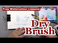 Lezley Davidson - Watercolour Lessons – Dry Brush