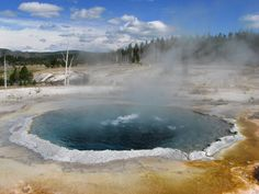 Crested Pool, Yellowstone National Park, Wyoming