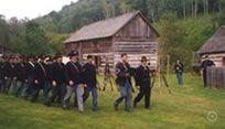 NorskedalenNature & Heritage Center, Norskedalen, WI. Pioneer log homestead, hiking trails.