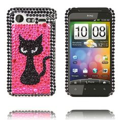 """Paris (Sort Kitty Pink) HTC Incredible S """"Bling-Bling"""" Cover"""