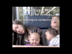 ▶ Lose The Legal Name - Some tips for newbies - YouTube
