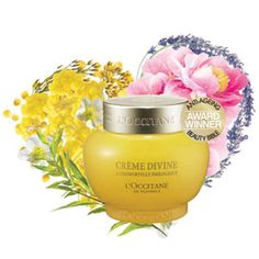 Luxurious, yet miraculously lightweight Divine Cream combines the unique anti-aging properties of everlasting immortelle flowers with the boosted effectiveness of 7 plant-derived active ingredients. Awards: Best Miracle Cream in Anti-Ageing Beauty Bible